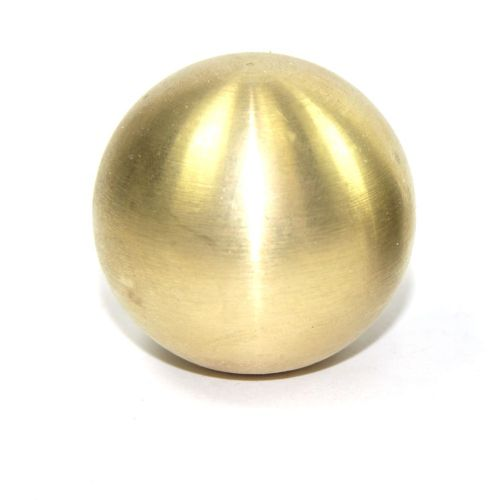 Solid Brass 35mm Ball Finial M10 x 1mm Pitch Thread